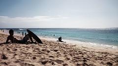 Hawaiian style :) (Ahmed's Eye !) Tags: ocean beach hawaii surf oahu sandy