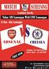 AIS Lamongan #AIS @AIS_LMG: #MatchScreening AIS LMG Arsenal vs Chelsea TONIGHT Alun2 Lmg OG:21.00 HTM Free @ID_ARSENAL #BeThereGuys #VCC #COYG s49dBbNYefA