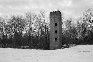 Abandoned Castle Silo