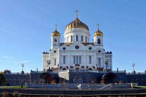 Храм Христа Спасителя / Cathedral of Christ the Saviour ©  ruscow