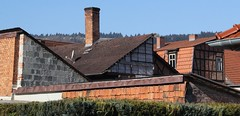 Roofscape (:Linda:) Tags: roof chimney germany town bluesky thuringia themar