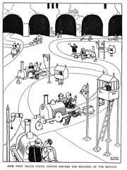 W Heath Robinson -Railway Ribaldry 1935 ill pg 67