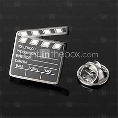 черная эмаль хлоп-палки видео шифер серебряные мужские нагрудным эмблема значок (ncoluc85) Tags: черная фотоальбомы чернаяэмальхлоппалкивидеошиферсеребряныемужскиенагруднымэмблемазначок чернаяэмаль чернаяэмальхлоппалки