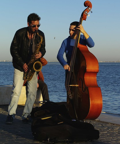Lisbon Jazz at river boarder