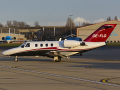 OE-FLG Cessna 525 CitationJet (FlyingAnts) Tags: norwich 525 cessna citationjet nwi egsh cj1 cessna525citationjetcj1 saxonair oeflg