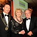 Gala Dinner Stephen McNally, IHF President, Prof Mary McAleese & Michael Rosney, Kileen House Hotel