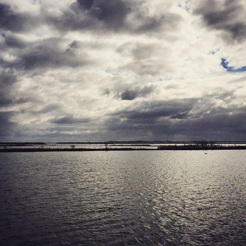 Mooie luchten boven het IJsselmeer