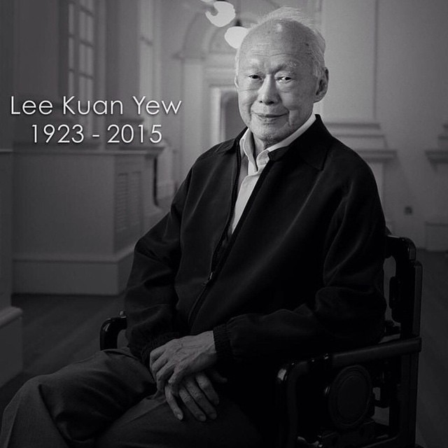 RIP., The Father of Singapore., Mr. LEE KUAN YEW.