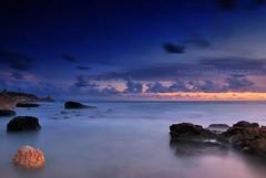 Charming Lattakia (Falcon EyE) Tags: sunset sea syria bluehour سوريا lattakia latakia اللاذقية سورية الشاطئ الكورنيشالجنوبي