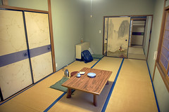 Staying overnight in a buddhistic temple in Koyasan (Hannes Rada) Tags: sleeping japan temple koyasan buddhistic