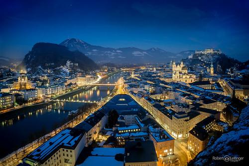 Salzburg bei Nacht III