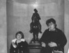Laura 5yrs + Marge at Statue Alcove (David Zerlin) Tags: photohistory margewunder