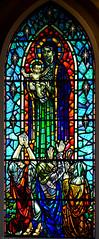Inside Hallgrmskirkja (judy dean) Tags: colour church window iceland hallgrimskirkja stainedglass reykjavik 2015 judydean sonya6000
