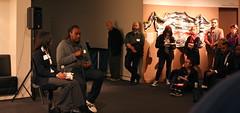 Hiraeth: Closing Event (Thacher Gallery at the University of San Francisco) Tags: usfca thachergallery hiraeth2015 hiraeth threepointninecollective africanamericanart sanfrancisco diaspora