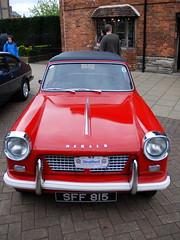 Triumph Herald, Stratford-upon-Avon Festival of Motoring 2016. (Roly-sisaphus) Tags: uk greatbritain england cars unitedkingdom gb warwickshire automobiles stratforduponavon midlands festivalofmotoring nikond802016dsc0577
