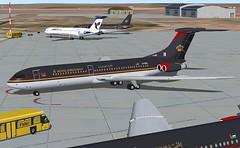 Royal Jordanian VC10-400 (jonf45 - 2 million views-Thank you) Tags: 2004 skin flight royal bae simulator sim jordanian fs fs9 vc10 repaint rja relivery vc10400