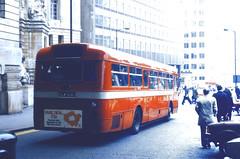 Slide 057-75 (Steve Guess) Tags: uk red england bus london station mba transport waterloo merlin gb arrow lambeth aec route507