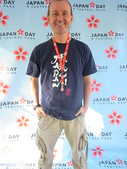 Ryan Janek Wolowski, Japan Day Central Park press red carpet step and repeat wallpaper in the Bandshell area of Central Park, New York City, Manhattan Island, USA (RYANISLAND) Tags: nyc newyorkcity pink flowers ny newyork flower japan japanese spring centralpark manhattan cherryblossom  sakura cherryblossoms newyorkstate matsuri japaneseculture nys springtime jpop sakuramatsuri  cherryblossomfestival centralparknyc manhattanisland japanday welcomespring japandaycentralpark peakbloom japandaynyc japanday2016