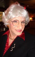 A Friendly Woman (Laurette Victoria) Tags: woman silver glasses suit milwaukee laurette