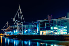 Cardiff Millennium Stadium (technodean2000) Tags: world uk cup skyline wales architecture night football nikon rugby stadium south cardiff ground millennium d610 d5200