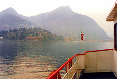 Italy.  March 29th.-April 3rd. 1998 (Cynthia of Harborough) Tags: mountains water architecture boats lakes views 1998 ferries