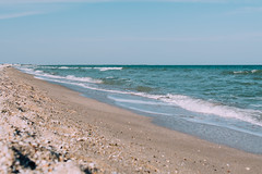 Seashore (Frostroomhead) Tags: sea seascape art beach water landscape sand nikon waves f14 sigma foam seashore 30mm azov d5200