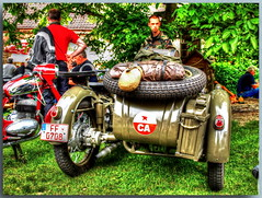 Oldtimertreffen in Schöneiche bei Berlin - BD (Peterspixel from Peter Althoff) Tags: bmw motorcycle dnepr bsa nsu simson motorrad ifa zündapp motocyclette мотоцикл днепр birminghamsmallarmscompany wehrmachtsgespann awo425 nsumotorenwerke