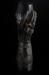 Gauntlet of Elrond (sr667) Tags: glass canon lordoftherings pewter ef100mmf28macrousm portglass graemeanthony gauntletofelrond pewterflute