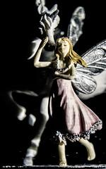 When I was a child...the world was full of magic (zzra) Tags: snow macro globe fairy unicorn mondays fae wheniwasachild macromondays