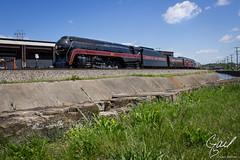 N&W J 611 in Roanoke, Va (gdalton91) Tags: railroad train photography j spring nw norfolk trains steam roanoke va western excursion 611