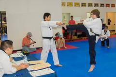 2016 Black Belt Test__DSC5126_69 (allen_cart) Tags: test white black belt tiger taekwondo whitetiger blackbelttest 2016