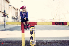Life is not about running all the time, sometimes you need to take a break (salas-3) Tags: street house girl finland photography photo nikon skateboard reg