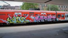 Graffiti (Honig&Teer) Tags: railroad streetart train graffiti steel eisenbahn hannover db urbanart deutschebahn sbahn railways treno aerosolart spraycanart traingraffiti trainart railroadgraffiti dbregio honigteer eisenbahngraffiti