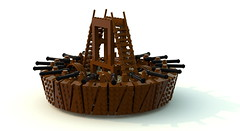Leonardo's Machines - Tank - (ravescat) Tags: tank lego da historical leonardo hummer vinci weapons moc