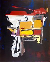 Jim Harris: Mercia Probe. (Jim Harris: Artist.) Tags: art geometric painting arte postmodern abstractart contemporaryart space cosmos contempornea geometrisk