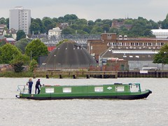 SPPC Return Medway Trip '16 (www.twitter.com/thameswatch) Tags: park st thames club river boats canal cross cruising kings barrier pancras narrowboat silvertown spcc