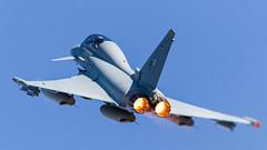 German AF Eurofighter EF-2000 30+42 (Hugh Dodson) Tags: natotigermeet spanishaf zaragozaairbase germanaf taktlwg 74 eurofighter ef2000 3042
