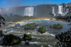 Rainbow of Paradise - Explore # 60 (*Capture the Moment*) Tags: trees brazil sun rainbow brasilien jungle waterfalls sonne bume regenbogen wetter iguacu landschaften urwald 2016 fozdeiguazu wasserflle sonynex7 sonye18200mmoss