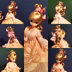 Authentic 1870's Hairstyle (Historical.Dreams) Tags: pink hair mio ribbon 1870 azone