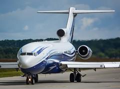 M-STAR Starling Aviation Boeing 727-200. (Austyn Pratt) Tags: plane airplane geneva aviation flight aeroplane boeing 727 bizjet privatejet 727200 mstar corporatejet starlingaviation ebace