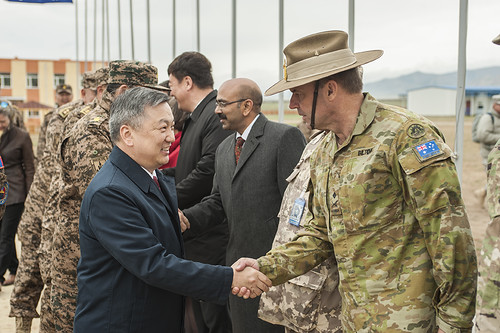 USARPAC deputy represents PACOM at Khaan Quest 2016 closing ceremony in Mongolia
