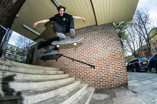 Josh Ward Brickett - Kickflip - Camden - London