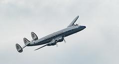 Lockheed Constellation (Jez B) Tags: farnborough air show display sbac aircraft plane airplane aeroplane lockheed constellation airliner