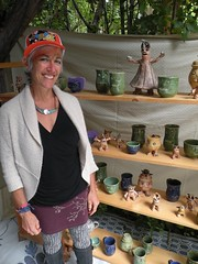 Oregon Country Fair 2016 (rooftop65) Tags: whimsy pottery critters oregoncountryfair craftbooth dancingtreestudio maurablackburn ceramicwhimsy