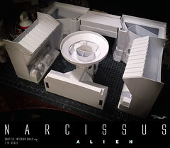 NARCISSUS61 (sith_fire30) Tags: alien narcissus nostromo shuttle lifeboat aliens isolation sevastopol covenant prometheus xenomoph sleep chamber ellen ripley weaver sigourney custom action figures sculpture art sculpting aves fixit sculpt avesstudio diorama scratchbuilding modelmaking