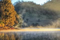 Ranukumbolo lake, (hamidnoer) Tags: mountain lake sunrise canon landscape semeru wonderfullindonesia