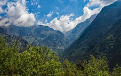 rack railway drive views (werner boehm *) Tags: mountains spain catalonia berge wernerboehm valdernuria