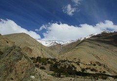 Paisaje montaoso (mariarl_art) Tags: paisajes naturaleza agua nubes montaas rocosas vergel vertiente desrtico