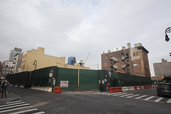 Corner Construction, Lower East Side, NY, 2016 (Jack Toolin) Tags: newyorkcity urban newyork streets cities gentrification transition urbanlandscape jacktoolin