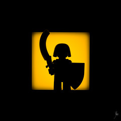 Shadow (197/100) - Egyptian Warrior (Ballou34) Tags: light shadow sphinx canon toy toys photography eos rebel blackwhite flickr lego pyramid stuck egypt plastic egyptian warrior photgraphy minifigure afol 2016 2015 minifigures toyphotography 650d t4i eos650d legography rebelt4i legographer stuckinplastic ballou34 enevucube 100shadows